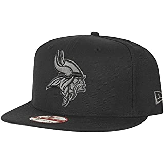 New Era 9Fifty Snapback Cap - Minnesota Vikings schwarz grau