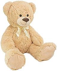 Idea Regalo - BRUBAKER Orsacchiotto orso di peluche - 100 cm di altezza