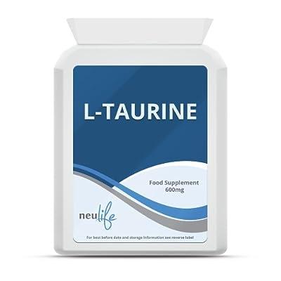 L-Taurine 600mg - 120 Capsules