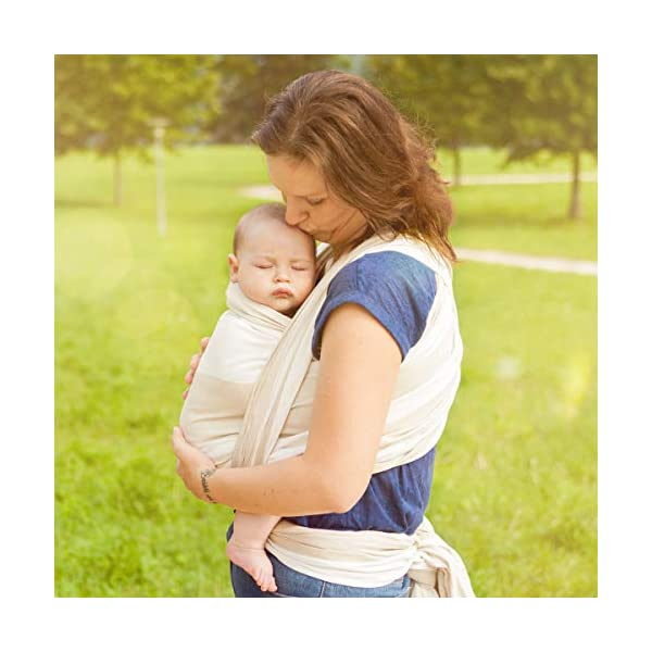 Hoppediz Kairo Woven Baby Sling Hoppediz Suitable from birth until parent or child chooses to stop carrying 100% Cotton Special broken twill weave 7