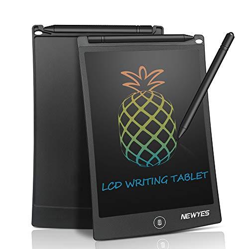Lcd Tablet da Scrittura Colorato - Blocco da scrittura elettronico da 8,5 pollici senza carta, Blocco note da disegno, adatto per bambini, in Ufficio, o per la famiglia (nero)