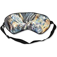 Colorful Hippo Sleep Eyes Masks - Comfortable Sleeping Mask Eye Cover For Travelling Night Noon Nap Mediation... preisvergleich bei billige-tabletten.eu