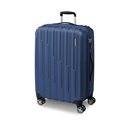 Trolley Grande 77 Cm Spinner 4 Ruote | Roncato Element | 419421-Blu Notte