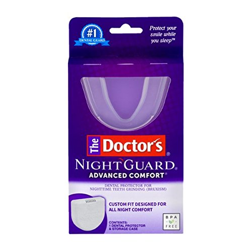 The Doctor's NightGuard Advanced Comfort Dental Protector for Teeth Grinding