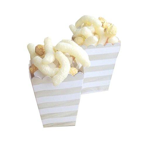 Black Temptation Popcorn Boxes Fries Cups Partyartikel - A8-12PCS