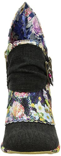 Irregular Choice Damen Miaow Pumps Schwarz (Black Multi Floral)