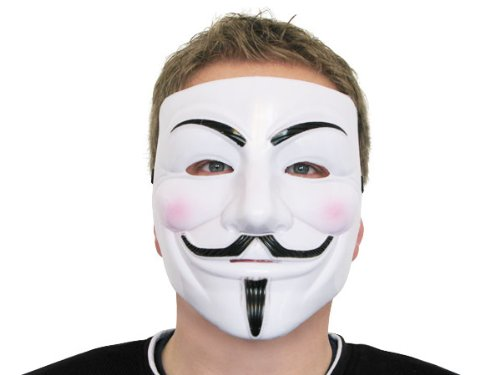 Guy Fawkes Maske V wie for Vendetta Mask Anti ACTA Bewegung