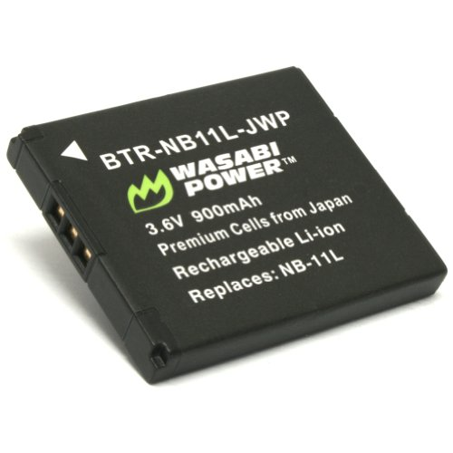 Wasabi Power Battery for Canon NB-11L and Canon PowerShot A2300 is A2400 is A3400 is A4000 is ELPH 110 HS ELPH 320 HS