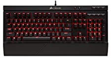 CORSAIR K68 Mechanical Gaming Keyboard, Backlit LED, Dust and Spill Resistant - Linear & Quiet - Cherry MX Red