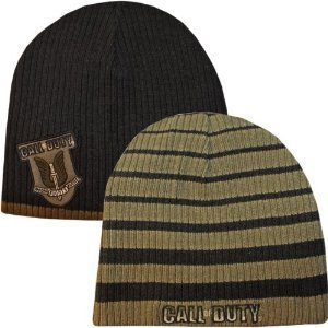 Call Of Duty Beanie Mütze No One Fights Alone Wendemütze reversible cap - Strickmütze (Beanie Call Of Duty)
