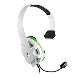 Turtle Beach Recon Chat White Headset - Xbox One Und Ps4