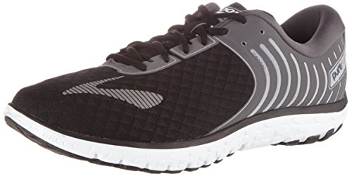 Brooks Men's Pureflow 6 Gymnastics Shoes, Black (Black/Anthracite/Silver), 10.5 UK
