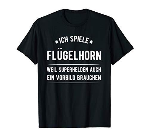 Flügelhorn - Horn - Instrument T Shirt Geschenk