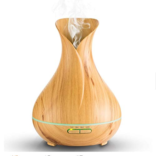 GT 550ML Ätherisches Öl Diffusor, Kühler Ultraschall-Luftbefeuchter Mit Farbe LED-Leuchten Für Zuhause, Yoga, Büro, Spa, Schlafzimmer, -