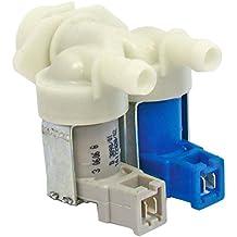 Spares2go doble entrada de agua solenoide válvula de llenado para General Electric lavadora