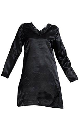 East Essence - Robe - Solid - Femme Noir - Noir