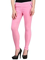 Vbirds Girls Fit Pant Jegging Pink Size-30 (Only one)