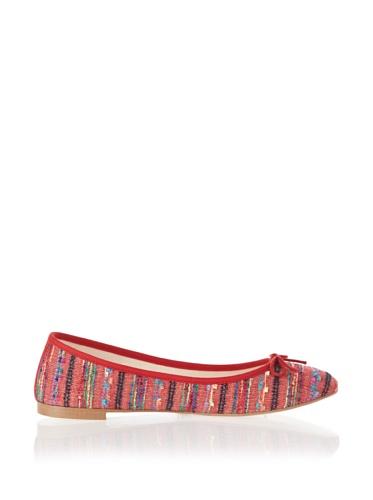 Jonny's Vegan Damen Schuhe Ballerina Peruvian Stone AK1414 rot (red) (43) - 3