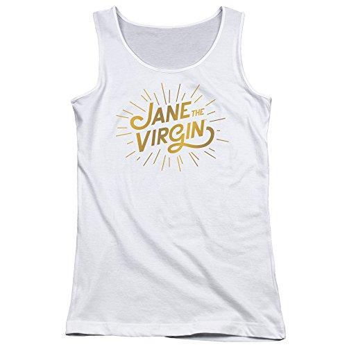 Jane The Virgin - - Logo d'or des jeunes femmes Débardeur white