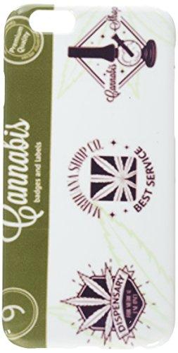 ana-Logo. iPhone 6 Cannabis Abzeichen, Etiketten und Handyhülle ()