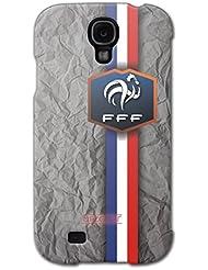 URCOVER Coque Equipe de France pour Samsung Galaxy S4 | Championnat d? Europe Spécial UEFA EURO 2016 | Coque Sportif Footbal Cover Housse Étui Drapeau National