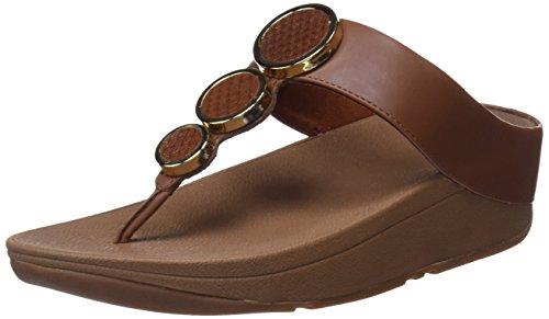 Fitflop Women's Halo Toe Thong Platform Sandals