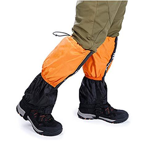 Schutz-system-schnee-hose (wasserdichte Wandern Gamaschen Durable Legging Atmungsaktive Hohe Beinabdeckung Wraps für Männer Frauen Kinder für Mountain Trekking Skifahren Wandern Klettern Jagd - 1 Paar Regenkleidung)