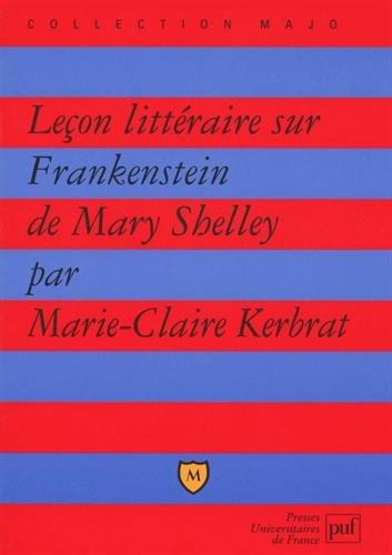 Leçon littéraire sur Frankenstein de Mary Shelley