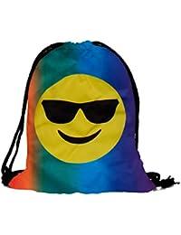 ALSINO Turnbeutel Hipster mit Spruch / Sportbeutel 31 cm x 39 cm / Sporttasche Gymbag / verschiedene Designs und Motive zur Auswahl / Gymbag