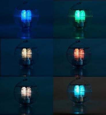 AVANTO LED Solar Kugel / Nachtlicht / Nachtlampe mit 6 Farben und einem schönen Farbwechsel - Ambiente Licht für Balkon / Garten / Wohnung / Teich / Pool von Avanto - Lampenhans.de