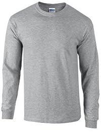 T-shirt à manches longues adultes Gildan Ultra Cotton ™