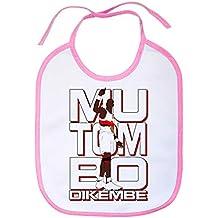 Babero Dikembe Mutombo leyenda del baloncesto