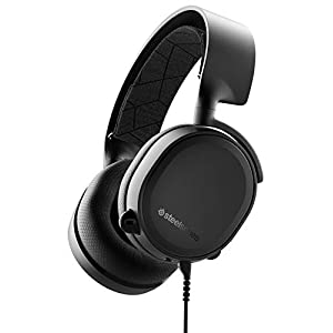SteelSeries Arctis 3 (All-Platform Gaming Headset, für PC, PlayStation 4, Xbox One, Nintendo Switch, VR, Android und iOS) schwarz