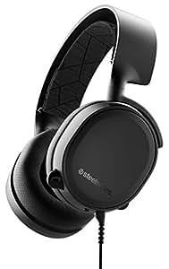 SteelSeries Arctis 3 Console - Casque de Jeu Filaire Stéréo - pour PlayStation 4, Xbox One, Nintendo Switch, RV, Android et iOS - Noir [Édition 2019]