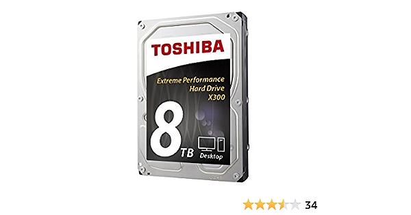 Toshiba Hdwf180ezsta X300 8tb Interne Festplatte 9 Cm Computer Zubehör