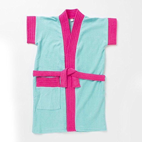 Pebbles Baby Pink & Blue Bath Robe