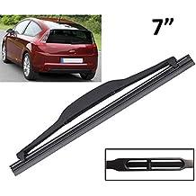 Xukey - Limpiaparabrisas trasero de 7 pulgadas para C4 Coupe 3 puertas DS5 Hatchback parabrisas ventana