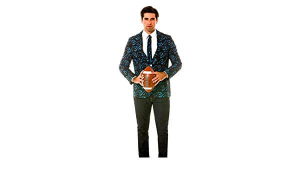 a8678fc6fd2 Shinesty Carolina Panthers Suit Jacket and Tie (Men s Size 42 - L)   Amazon.co.uk  Sports   Outdoors