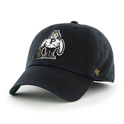 47 Brand NCAA Purdue Boilermakers Franchise ausgestattet Hat, schwarz 2, Youth M