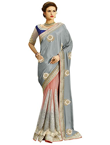 Sareeshop Georgette Saree With Blouse Piece (S2207_Multi_Free Size)