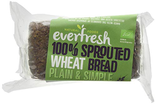 Everfresh Sprouted Wheat Organic Bread 400 g (Pack of 8)
