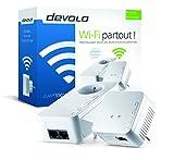 Devolo - 9632 - dLAN 500 WiFi, Prise Réseau CPL WiFi (500 Mbit/s, 2x Adaptateur, 2x Ports Fast Ethernet, Ampificateur WiFi, Augmenter Portée Wifi, Courant Porteur, WiFi Move) - Kit de Démarrage, Blanc