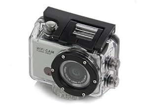 Full-HD-Wasserdichte Action Sport-Kamera mit WiFi | Auto-Fahrrad-Helm Arm High-Def-Sport-Kamera DVR