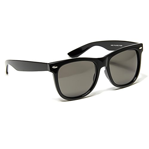 Kiss Sonnenbrille mod. BLUES BROTHERS - mann frau CULT MOVIE vintage unisex NERD - SCHWARZ