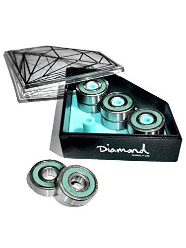 Diamond Supply Co. Diamond Blau Diamond Smoke Rings Skateboard Kugellager (One Size, Blau) (Diamond Supply Skateboard)