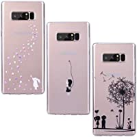 Yokata [3 Packs] Samsung Galaxy Note 8 Hülle Transparent Silicone Handytasche Handyhülle Schutzhülle TPU Schale... preisvergleich bei billige-tabletten.eu