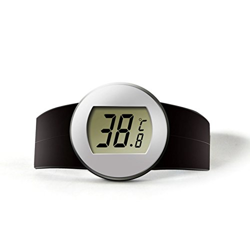 GuDoQi Digital Wein Thermometer Wein Temperatursensor Drahtlose Temperatur Tester Rotwein Elektronische Thermometer