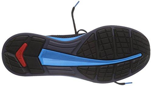 Puma Ignite Proknit, Chaussures De Course À Pied Homme Noir (schwarz (noir-atomique Bleu-blanc 07))