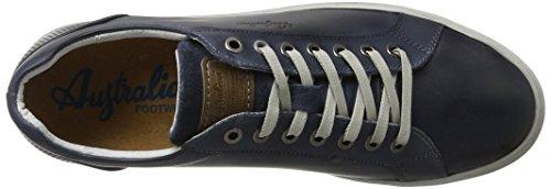 Australian Stratham Leather, Chaussures à Lacets Homme Blau (Blue)
