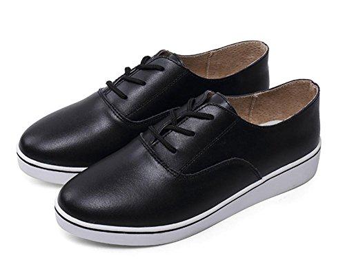 scarpe signora primavera e autunno scarpe casual scarpe bianche scarpe da donne è aumentato Black